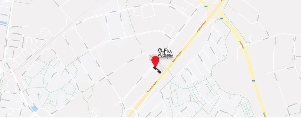 Hitta till Fika på Berga - Café i Helsingborg